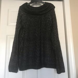 Liz Claiborne cowl neck sweater